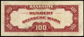 """R.244 100 DM 1948 """" Roter Hunderter """"(3)"""