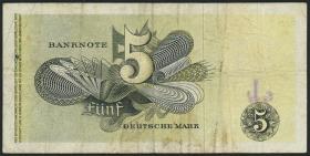 R.252e 5 DM 1948 Europa Ersatznote * (3-)