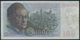 R.256 100 DM 1948 Bank Deutscher Länder Serie D.38 (2)