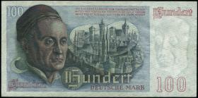 R.256 100 DM 1948 Bank Deutscher Länder 2-stellig (3+)