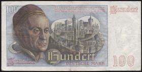R.256 100 DM 1948 Bank Deutscher Länder 2-stellig P11 (2)
