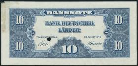 R.258D2 10 DM 1949 BDL Druckprobe (1-)