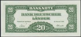 R.260 20 DM 1949 Bank Deutscher Länder (1/1-)
