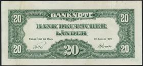 R.260 20 DM 1949 Bank Deutscher Länder (2)