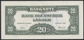 R.261 20 DM 1949 BDL B-Stempel (1)