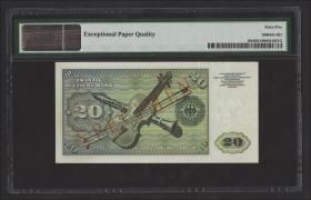 R.264M 20 DM 1960 MUSTER / SPECIMEN (1)