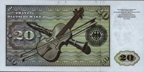 R.271d 20 DM 1970 ZE/A Ersatznote (1)