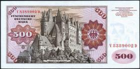 R.274a 500 DM 1970 V/D (2+)