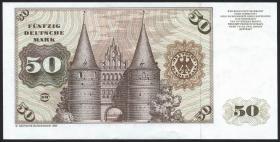 R.288a 50 DM 1980 Verschnitt (2+)
