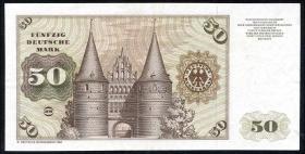 R.288b 50 DM 1980YE Ersatznote (3)