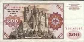 R.290b 500 DM 1980 Y/A Ersatznote (3)