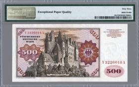 R.290b 500 DM 1980 Y/A Ersatznote (1)