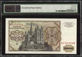 R.291a 1000 DM 1980 W/M (1/1-)
