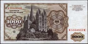 R.291a 1000 DM 1980 W/M (2)
