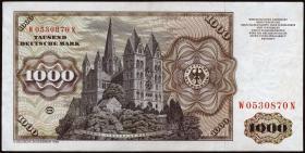 R.291a 1000 DM 1980 W/N (2+)