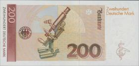 R.295b 200 DM 1989 YA/D Ersatznote (1)
