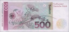 R.301b 500 DM 1991 YA Ersatznote (2)