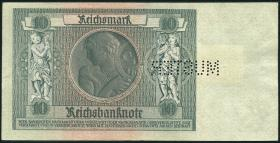R.334M 10 DM 1948 Kuponausgabe Muster Perforation (1)