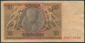 R.335a: 20 DM 1948 Kuponausgabe Siemens (3)