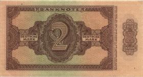 R.341b 2 DM 1948 6-stellig Serie AA (1)