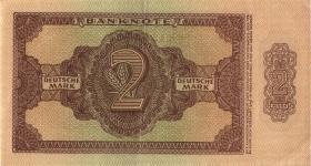 R.341b 2 DM 1948 6-stellig Serie BN (2)