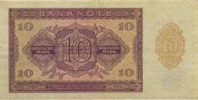 R.350b 10 Mark 1955 YB Ersatznote (3+)