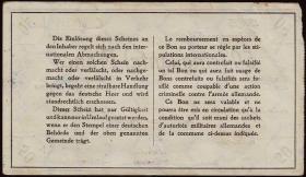 R.418a 50 Francs 1914/15 Deichmann-Bon (1-)