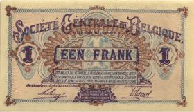 R.433b: Besetzung Belgien 1 Franc 1918 (1)