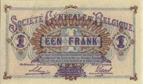 R.433b: Besetzung Belgien 1 Franc 1917 (1)