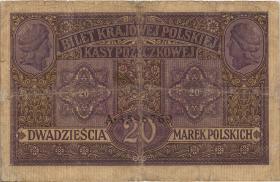 R.444: Besetzung Polen 20 Marek 1917 (5)