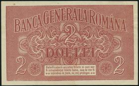 R.475 Besetzung Rumänien 2 Lei 1917 (2)