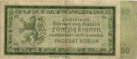 R.561a: Böhmen & Mähren 50 Kronen 1940 (4)