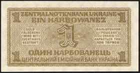 R.591: Besetzung Ukraine 1 Karbowanez 1942 (1)