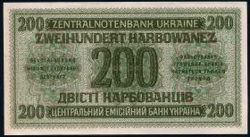 R.598b: Besetzung Ukraine 200 Karbowanez 1942 (1)