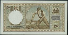 R.608: Serbien 100 Dinara 1942 (1)