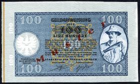 R.613M: Laibach 100 Lire 1944 (1)