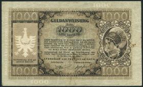 R.615: Laibach 1000 Lire 1944 (3-)