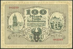 R.792: Danzig 100 Mark 1922 (1-)