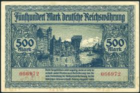 R.793: Danzig 500 Mark 1922 (1/1-)