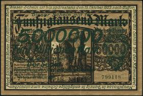 R.803: Danzig 5 Million Mark 1923 (2)