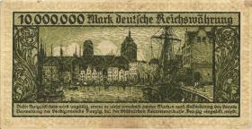 R.804a: Danzig 10 Millionen Mark 1923 (3-)
