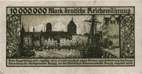 R.804b: Danzig 10 Millionen Mark 1923 (2)