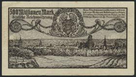 R.807a: Danzig 500 Millionen Mark 1923 (2+)