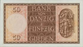 R.843: Danzig 50 Gulden 1937 (1)