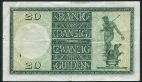 R.844a: Danzig 20 Gulden 1937 (3)