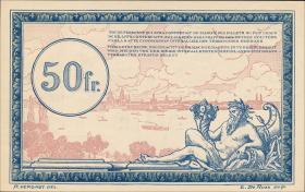 R.863d: Rheinland 50 Francs (1923) Specimen (1)