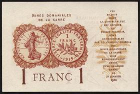 R.866: Saar 1 Franc 1930 (1)