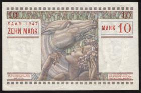 R.870: Saarland 10 Mark 1947 (1)