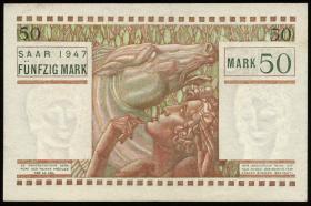 R.871: Saarland 50 Mark 1947 (1/1-)