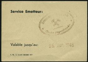 R.875: Saarland 2 Mark (1947) (1-)